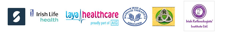 Part of AIG, Massage Therapist Association and Irish Reflexoligists Institute LTD in Laois